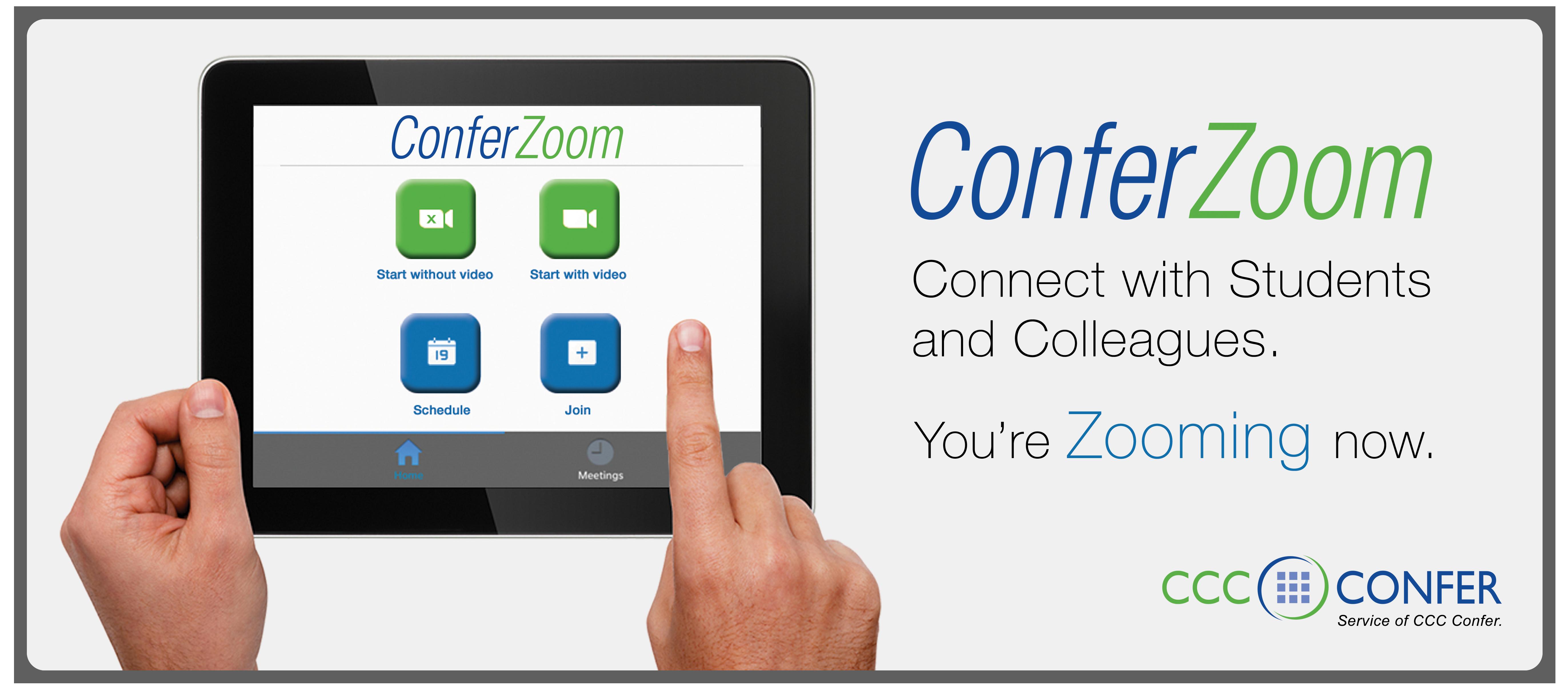 ConferZoom web page logo